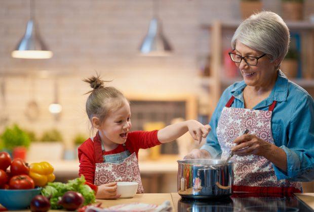 nonni attività con i nipoti