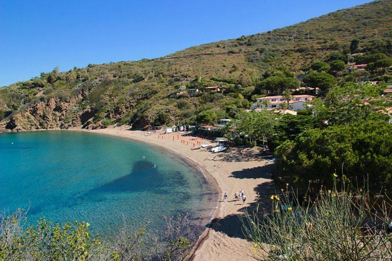 baia dell'Innamorata isola d'Elba