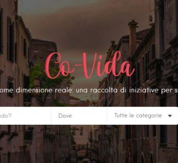 co-vida-com:-tutte-le-iniziative-solidali-su-un-unico-portale