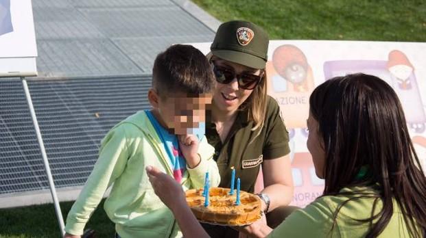 festa al Kids Festival per il bimbo autistico