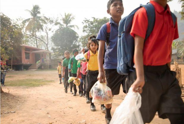 pagare-gli-studi-con-rifiuti-di-plastica-l'iniziativa-di-una-scuola-indiana