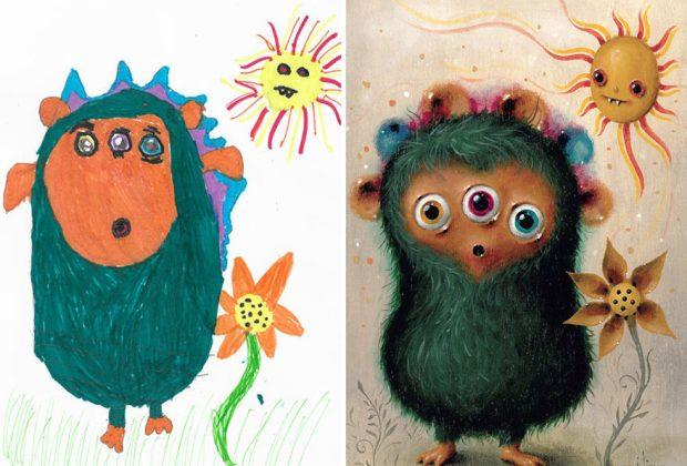 the-monster-project-le-paure-dei-bambini-ricreate-dagli-artisti