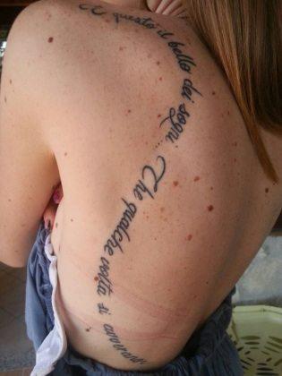 tatuaggio figli sogni che si avverano